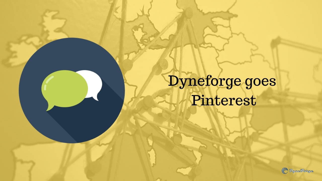 Dyneforge goes Pinterest