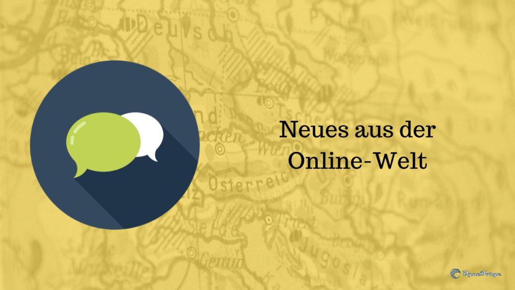 Neues aus der Online-Welt