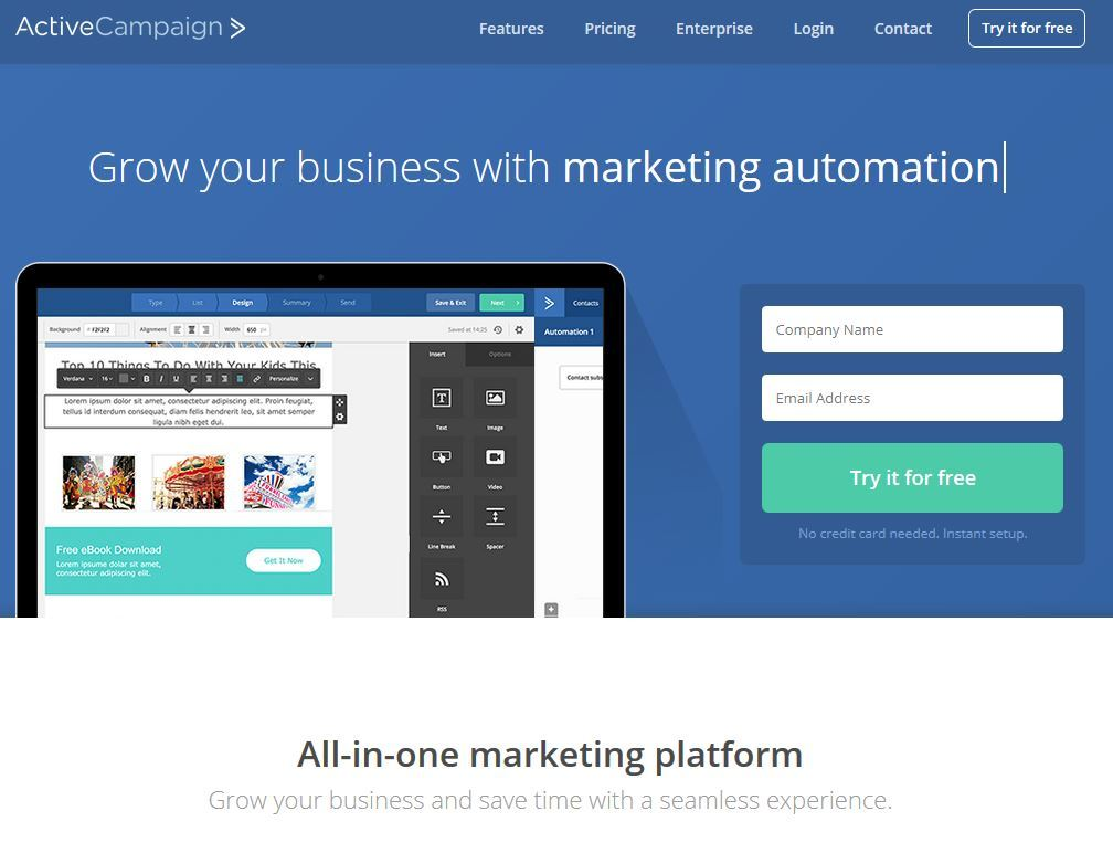 ActiveCampaign Marketing Automatisierung