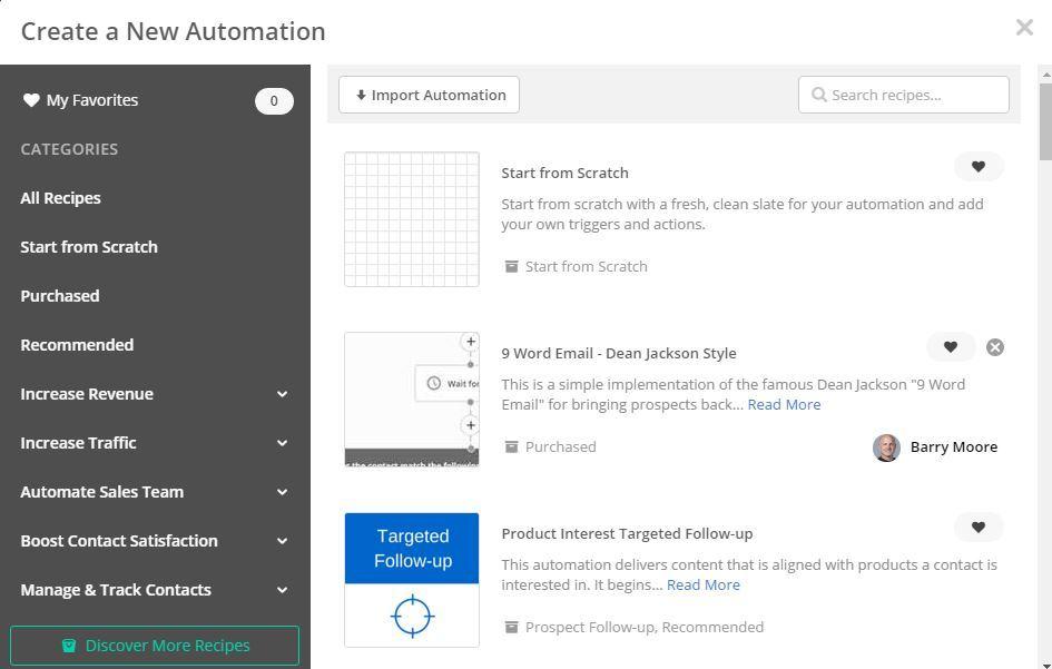 ActiveCampaign Automationen