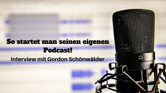 Wie starte ich meinen Podcast
