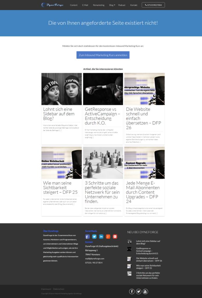 404 Seiten Opt-In