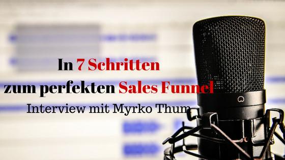 In 7 Schritten zum perfekten Sales Funnel