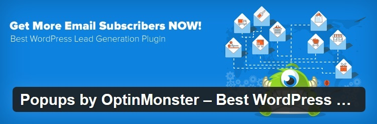 Die 3 besten E-Mail Opt-In Plugins für WordPress - Monster Logo
