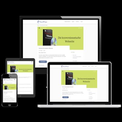 Die konversionsstarke Website Cover klein
