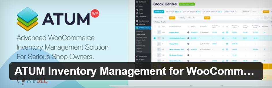 Schnelle Lagerverwaltung für WooCommerce - ATUM Inventory Management