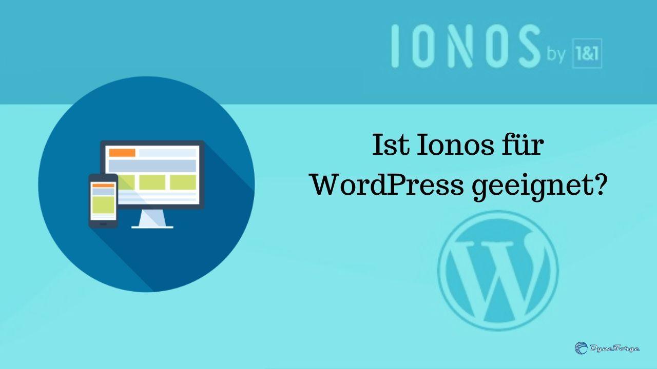 Ist Ionos für WordPress geeignet - Ein Blick auf Schnelligkeit und Einrichtung - Beitragsbild