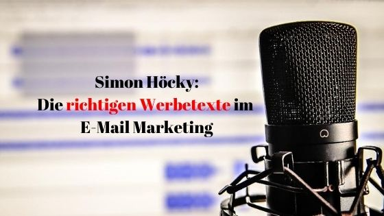 Simon Hoecky Copywriting Cover