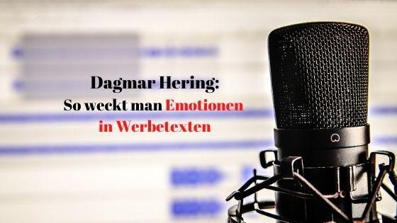 Dagmar Hering So weckt man Emotionen in Werbetexten