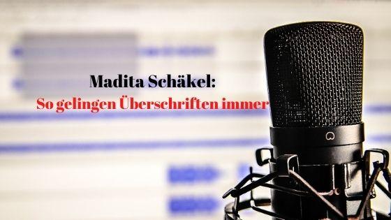 Madita Schaekel So gelingen Überschriften immer